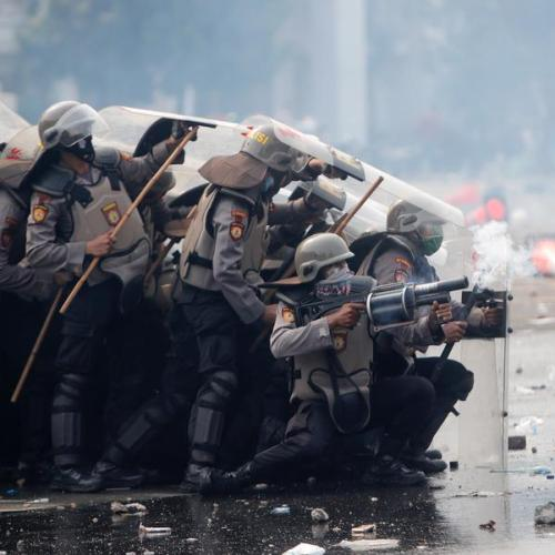 Photo Story: Protests in the streets of Jakarta