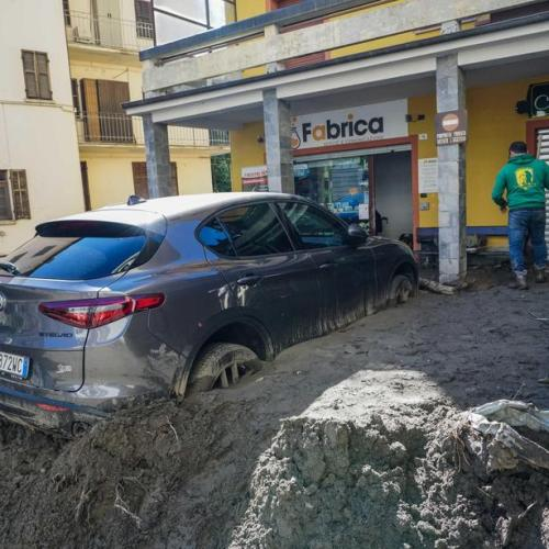 Photo story: The aftermath of the fatal storms that struck Italy