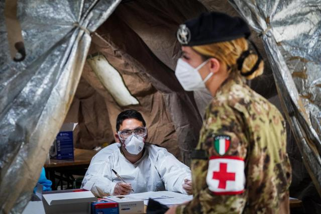 Italy's daily coronavirus cases total 26,831, a new record