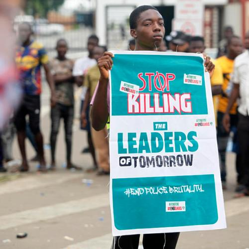 Lagos under 24-hour lockdown after violent protests