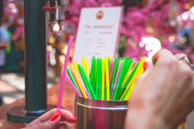 Plastic straws and cotton buds banned in England from today