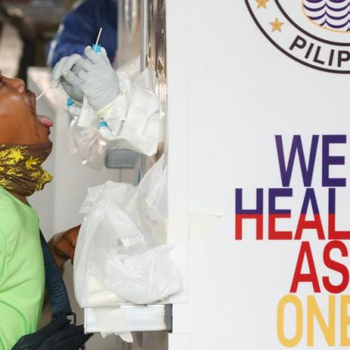 Philippines reports lowest amount of cases in 3 weeks