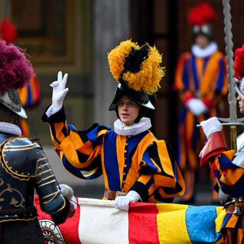 Photo Story: Swiss Guard swearing-in ceremony at Vatican