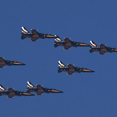 Photo Story: Black Eagles acrobatic squad flight rehearsal