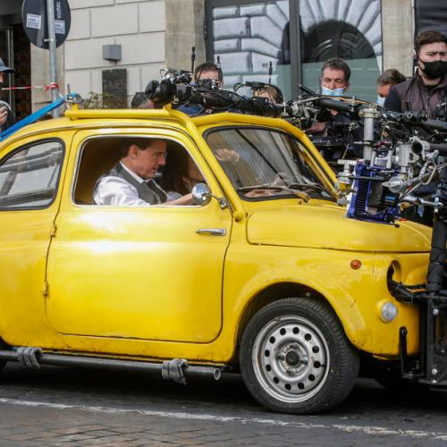 Photo Story: Tom Cruise in Rome for filming of Mission: Impossible 7