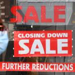 UK shopper numbers fall for fourth straight week