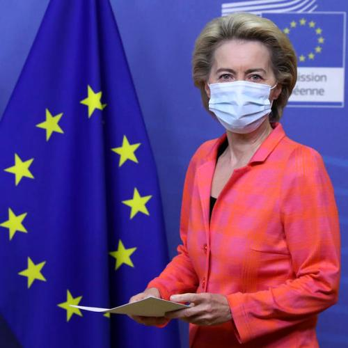 Ursula Von Der Leyen leaves EU council meeting, goes in quarantine