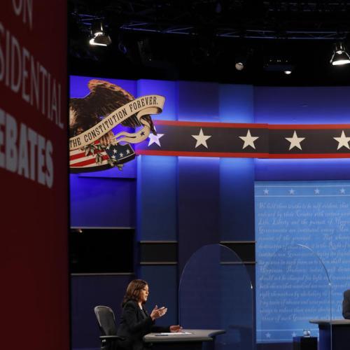 Harris, Pence clash over Trump's coronavirus record at U.S. VP debate