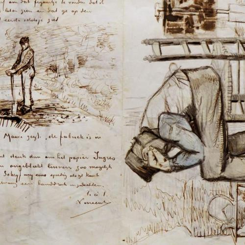 Photo Story: Van Gogh's letters on display in Amsterdam