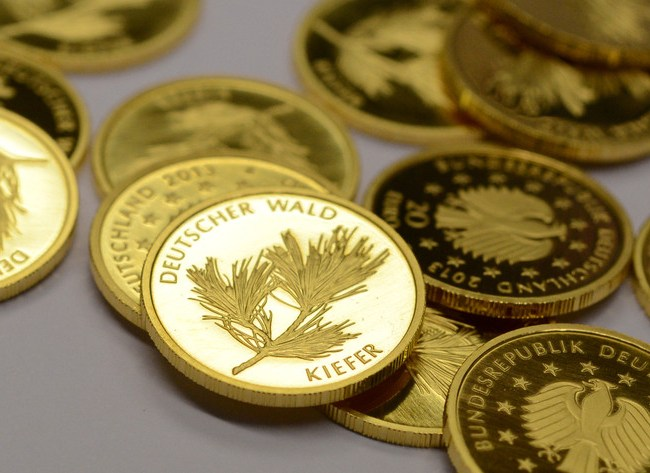 Gold prices register increase