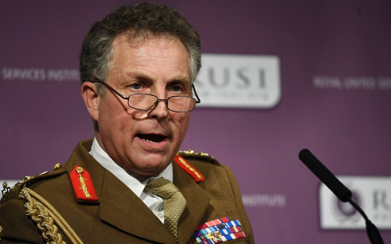 UK military chief says Russia is spreading lies about Covid vaccines