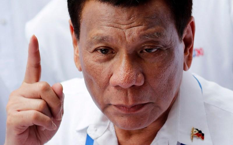 Philippines' Duterte scores record high rating