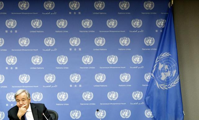 Divided world is failing COVID-19 challenge, says frustrated U.N. chief