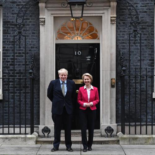 UK's Johnson, EU's Von der Leyen to discuss Brexit on Wednesday
