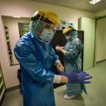 Milan's hospital intensive care units full