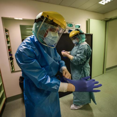 Milan's hospital intensive care units full