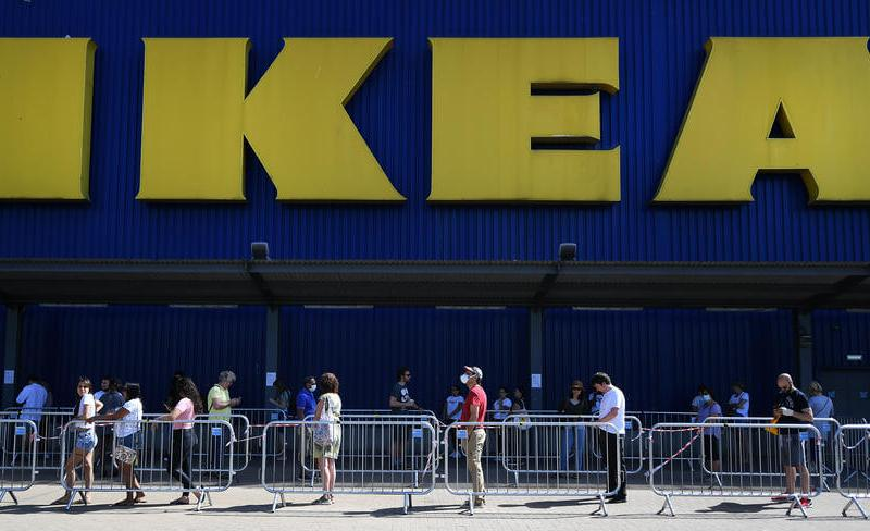 IKEA gets sales boost from shoppers' new stay-at-home focus