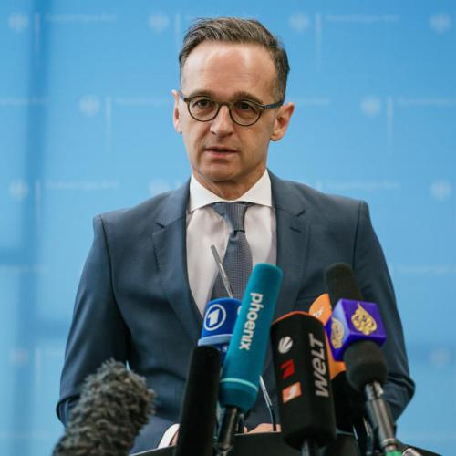 Germany's foreign minister defends Israel's right to self-defence