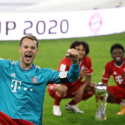 Luck and skill help Bayern lift German Super Cup