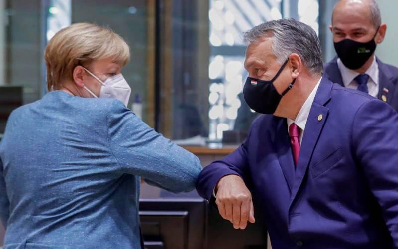 Rule of law was no backdoor addition – Merkel