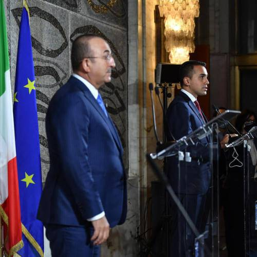Libya takes centre stage in Italy-Turkey diplomatic talks
