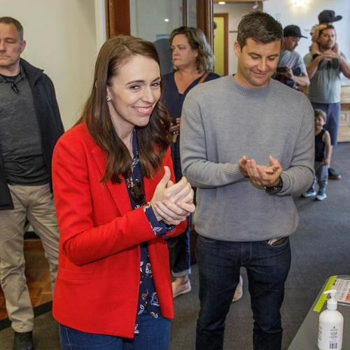 Poll indicates NZ PM Jacinda Ardern poised for big win in election