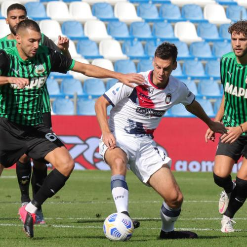 Sassuolo moves up to second place in Serie A