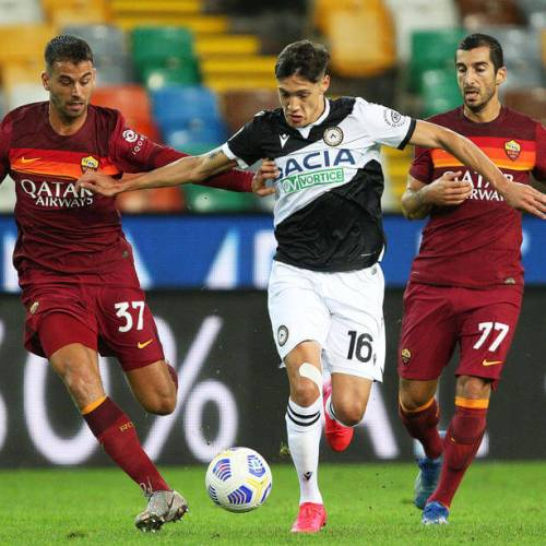 Roma register their first win of Serie A season