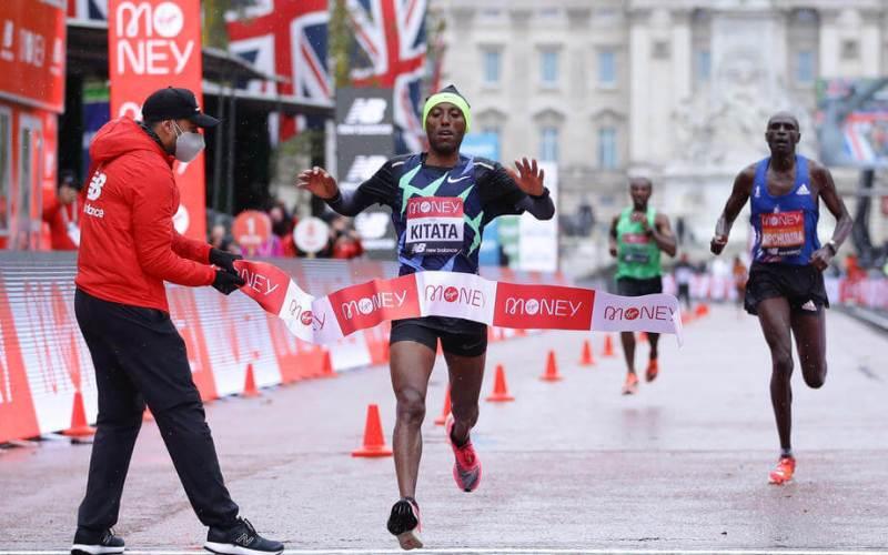 Kitata wins London Marathon