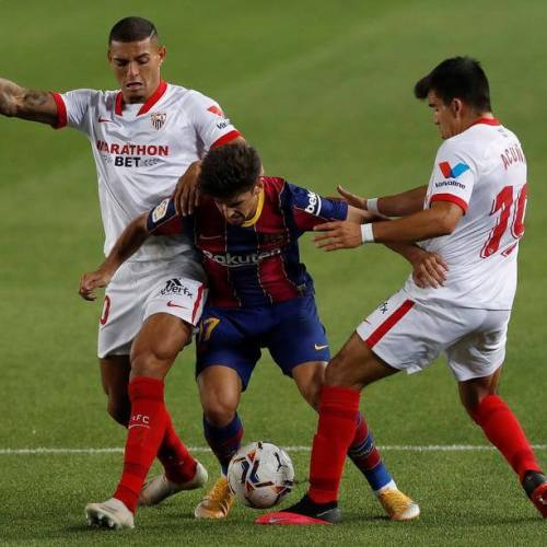 Barcelona held by Sevilla