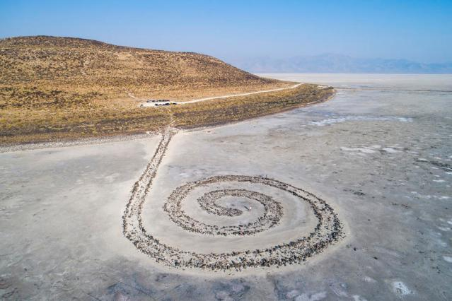 EPA's Eye in the Sky: Spiral Jetty, Utah, USA