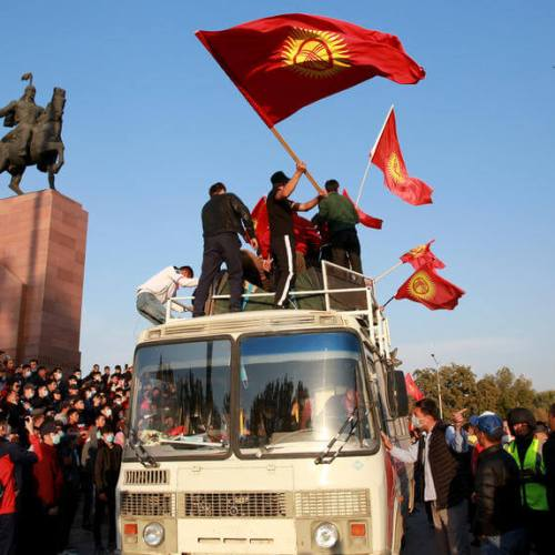 UPDATED: Opposition claims to have seized power in Kyrgyzstan