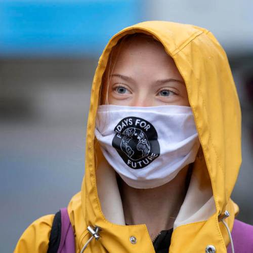 Greta Thunberg urge voters to support Joe Biden