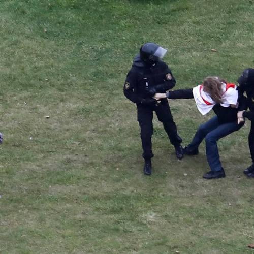 Dozens of protestors detained in Belarus
