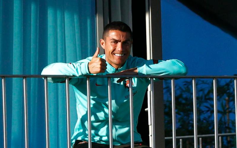 Ronaldo denies breaking coronavirus protocol