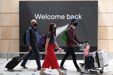 "New Zealand to resume Australia ""travel bubble"" as Sydney COVID threat eases"