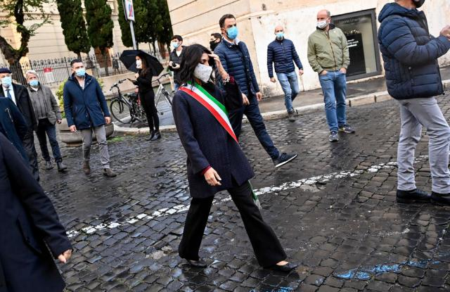 Rome's mayor denounced organised crime plans to have her killed