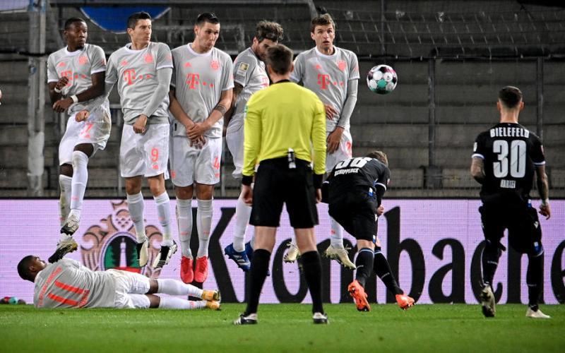 Bayern crush Arminia Bielefeld 4 – 1