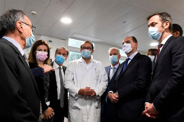 French hospitals will feel impact of accelerating infections in two weeks: minister