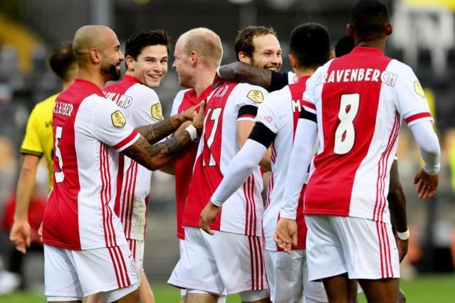 Ajax sets Eredivisie record when they scored 13 goals