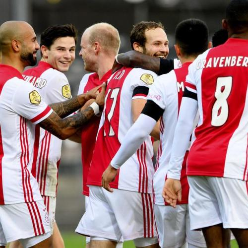 Ajax sets Eredivisie record when they scored 13 goals