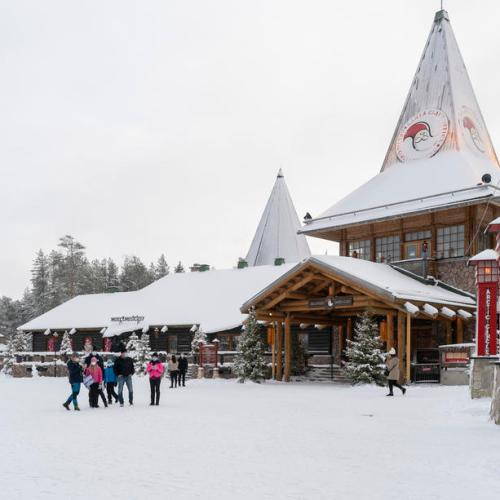 Photo Story: Santa Claus Village in Arctic Circle almost deserted due to Coronavirus Pandemic