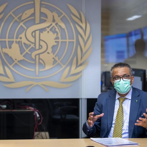 "WHO chief warns coronavirus is ""not tired"", urges vigilance"
