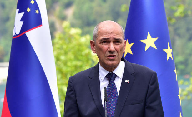 Slovenia's PM urges EU to stand with Lithuania against Chinese pressure