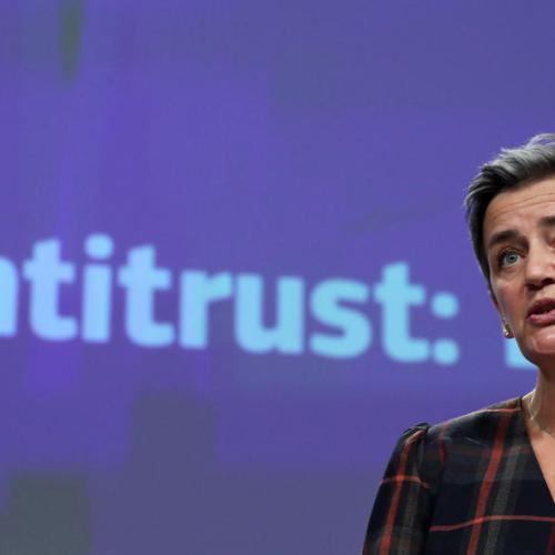 EU antitrust chief does not see breakup of tech giants