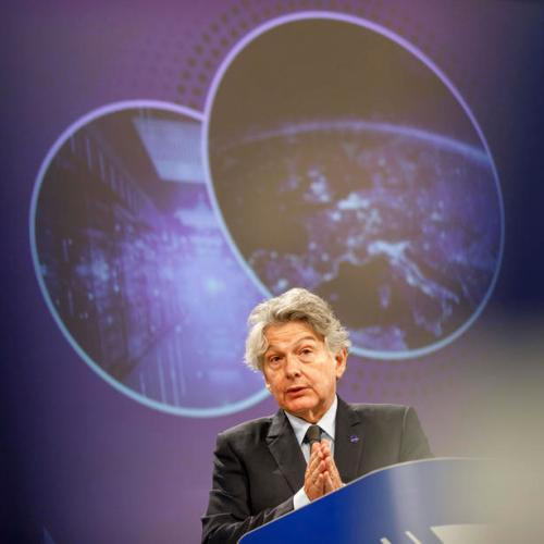 Tech groups' services could face bans if they breach rules -EU industry chief