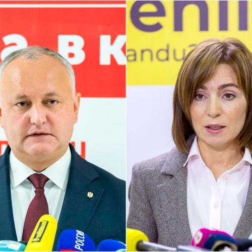 Moldova's pro-Moscow president faces pro-EU rival in election run-off