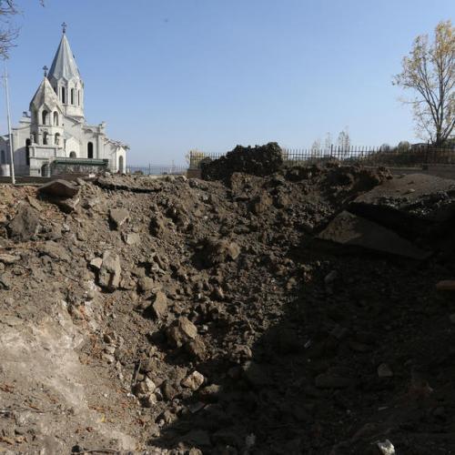 Putin tells Azerbaijan to take care of Christian shrines in Nagorno-Karabakh