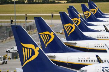 Ryanair says flights filling up very strongly in June, July, August
