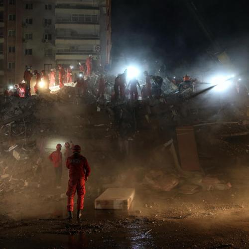 Turkey continues rescue work after quake, death toll hits 81